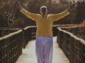 asana puente yoga como musica