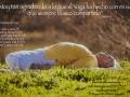 asana tumbado agradecido yoga