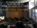 foto yoga con frase