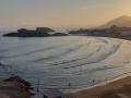 playa logo atardecer