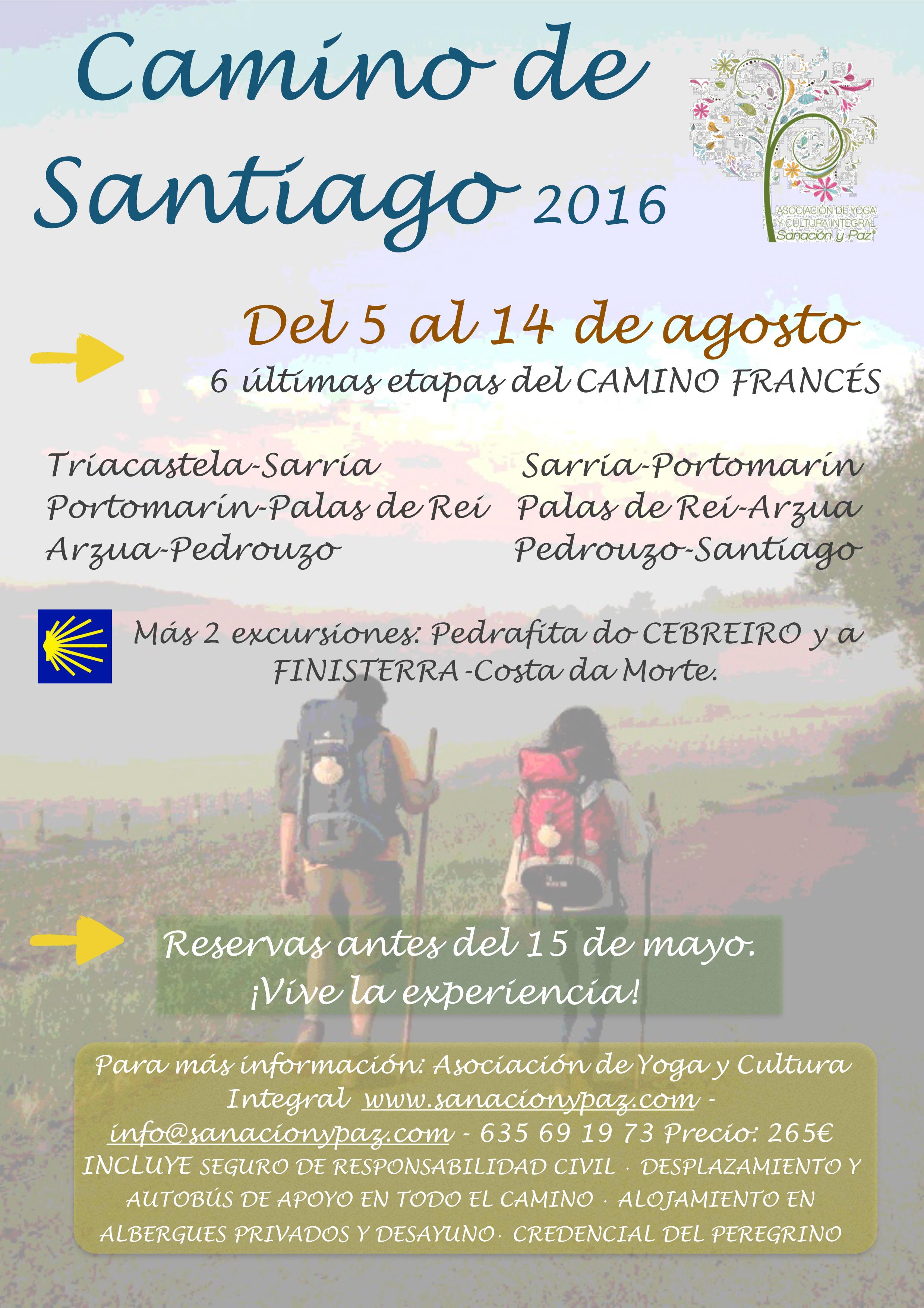 cartel camino de santiago.pages
