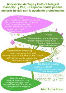 folleto nuevo con meditacion centro horarios