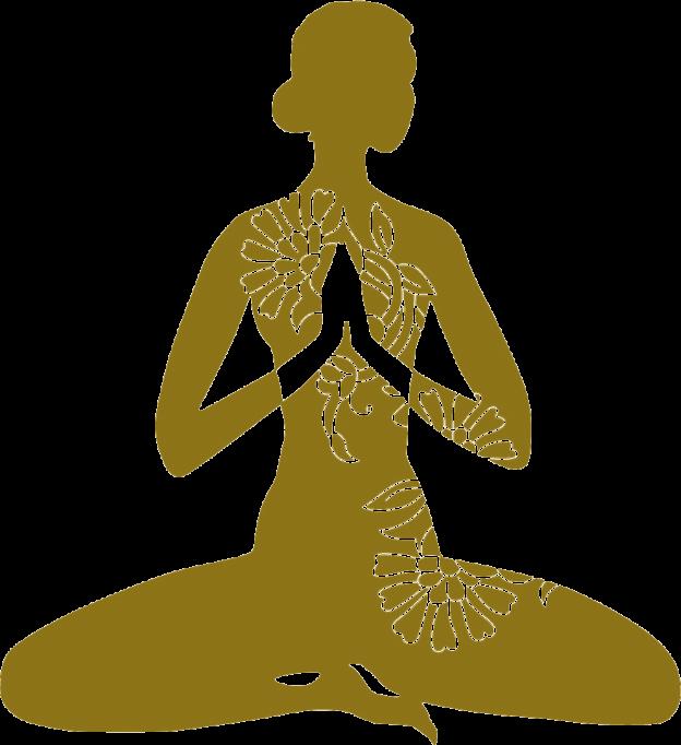 silueta-yoga-dorada