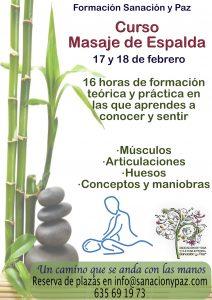 curso de masaje de espalda2018