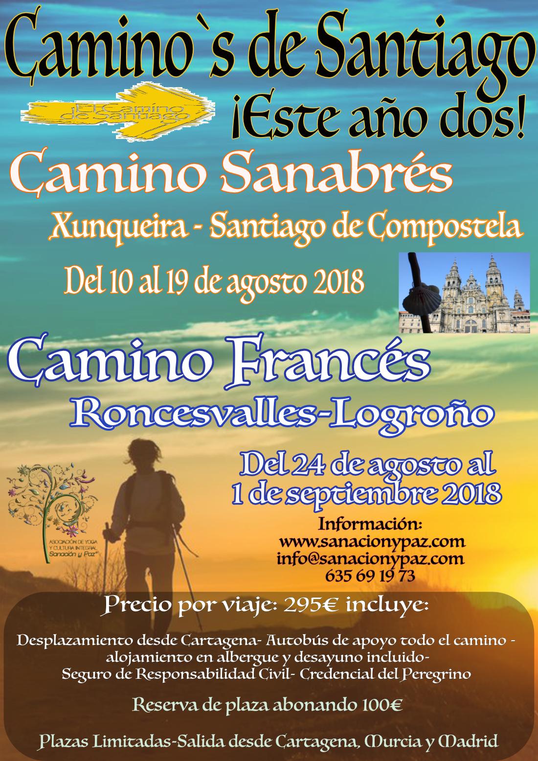 camino de santiago2018 2