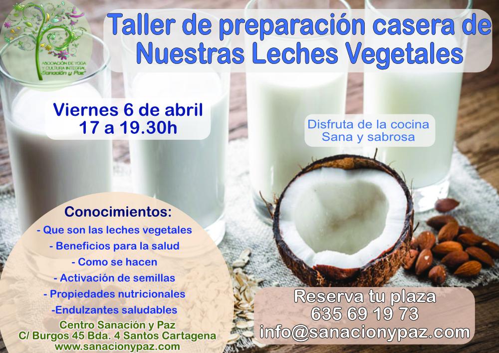 taller leches vegetales